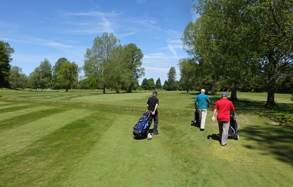 North Inch Golf Course. Perthshire. 2015  - 14